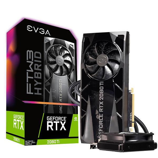 EVGA GeForce RTX 2080 Ti FTW3 Hybrid Gaming iCX2 HDMI 3xDP 11GB