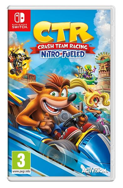 Bild på CTR Crash Team Racing - Nitro Fueled Edition (Switch) från Prisjakt.nu