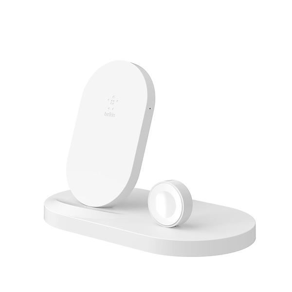 Bild på Belkin Wireless Charging Dock for Apple Watch/iPhone F8J235 från Prisjakt.nu
