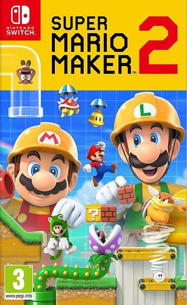 Bild på Super Mario Maker 2 (Switch) från Prisjakt.nu