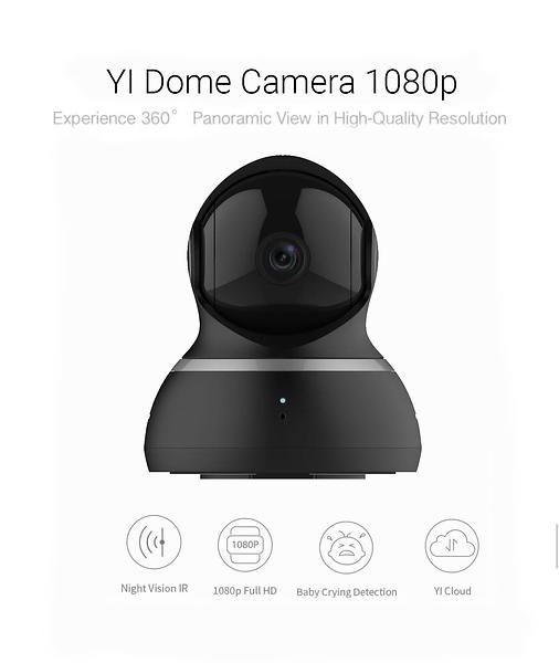 Bild på Xiaomi YI Dome Camera 1080p från Prisjakt.nu