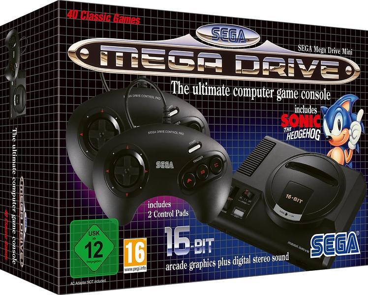 Bild på Sega Mega Drive Mini från Prisjakt.nu