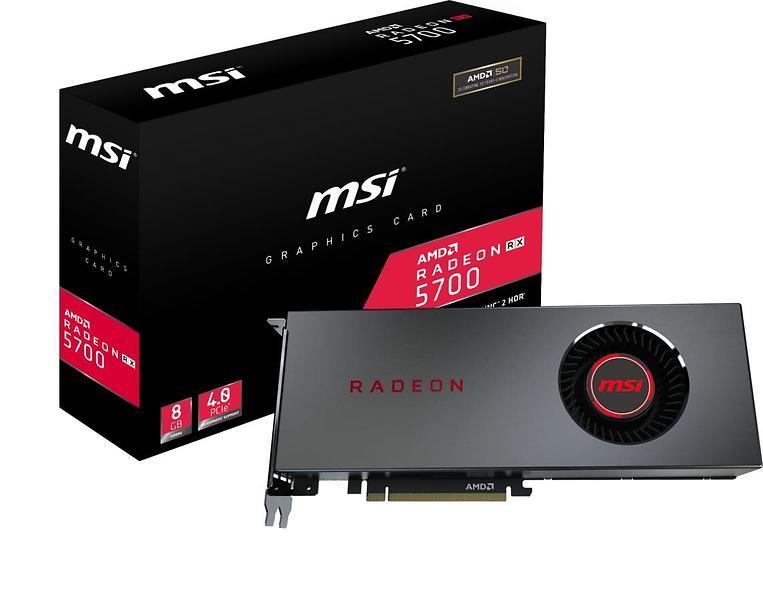 Bild på MSI Radeon RX 5700 HDMI 3xDP 8GB från Prisjakt.nu