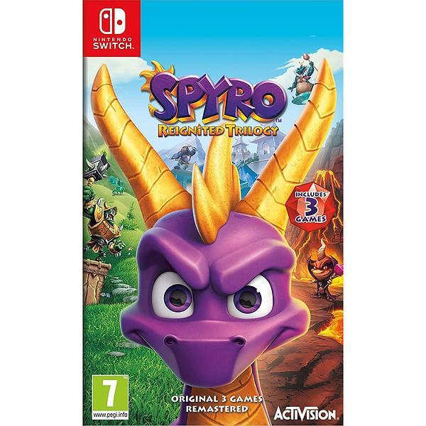 Bild på Spyro Reignited Trilogy (Switch) från Prisjakt.nu