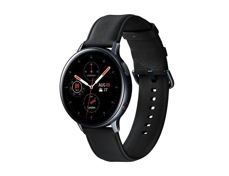 Bild på Samsung Galaxy Watch Active 2 44mm LTE Stainless Steel från Prisjakt.nu