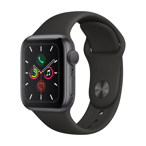 Bild på Apple Watch Series 5 40mm Aluminium with Sport Band från Prisjakt.nu