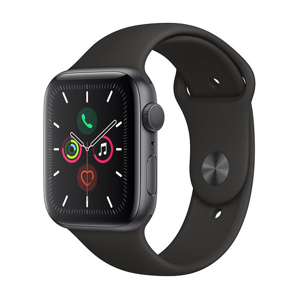 Bild på Apple Watch Series 5 44mm Aluminium with Sport Band från Prisjakt.nu