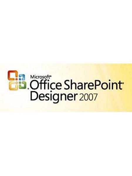 J Mf R Priser P Microsoft Office Sharepoint Designer 2007