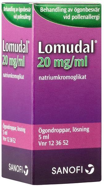 f4f0550fb Best pris på Sanofi-Aventis Lomudal Øyedråper 20mg/ml 5ml ...