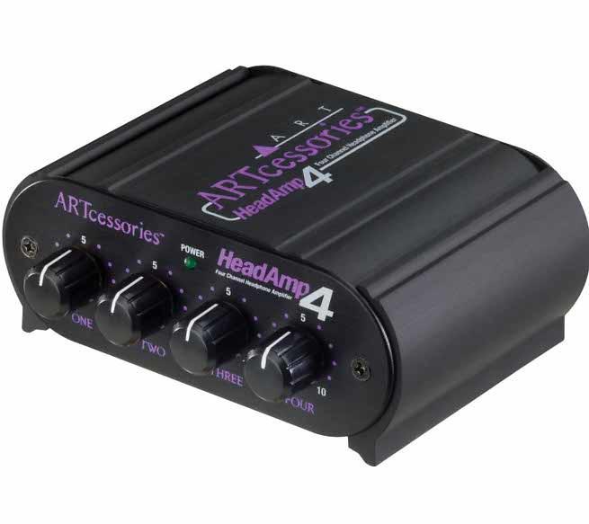 ART Pro Audio HeadAmp 4