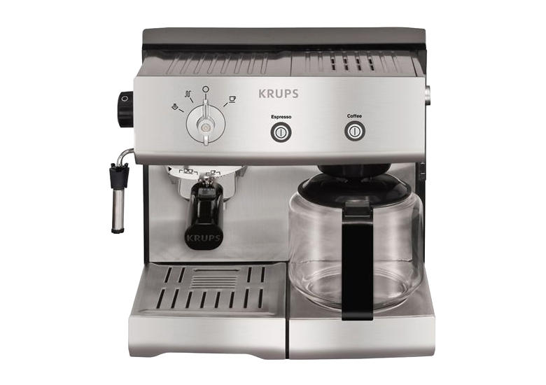review of krups espresseria combi xp2240 espresso machine. Black Bedroom Furniture Sets. Home Design Ideas