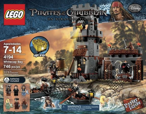 lego pirates of the caribbean whitecap bay instructions