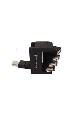 Champion 4Port USB 20 External 43850