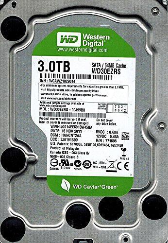 WD Caviar Green WD30EZRS 64MB 3TB