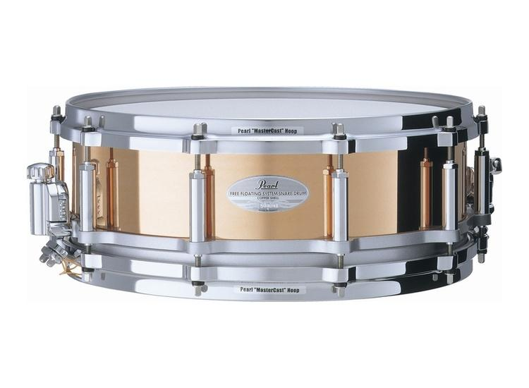 best deals on pearl sensitone elite free floating copper snare 14 x5 snare drum compare. Black Bedroom Furniture Sets. Home Design Ideas