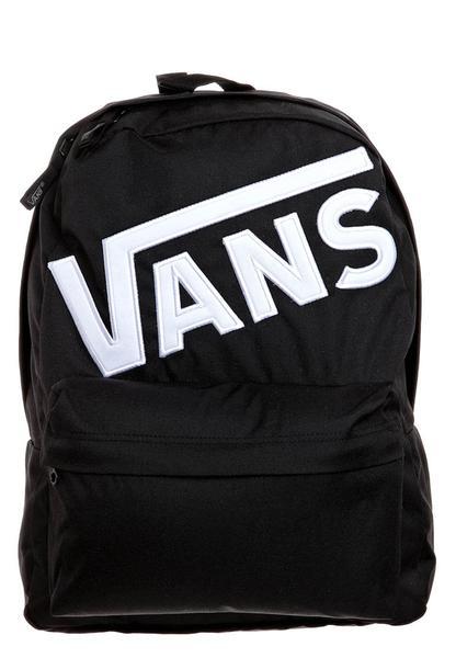 svart vans ryggsäck