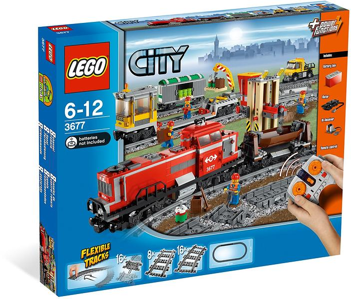 Best Deals On Lego City 3677 Red Cargo Train Lego