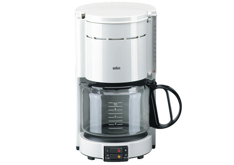 Dual Coffee Maker With Automatic Shut Off : Product details for Braun KF47 Classic Filter Coffee Machine