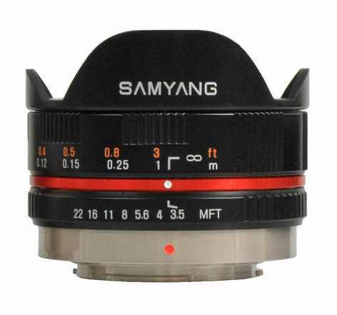 Samyang MF 7,5/3,5 UMC Fisheye for Olympus/Panasonic m4/3