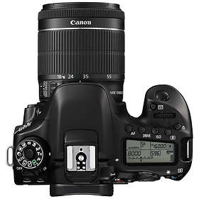 Canon EOS 80D + 18-55/3.5-5.6 IS STM