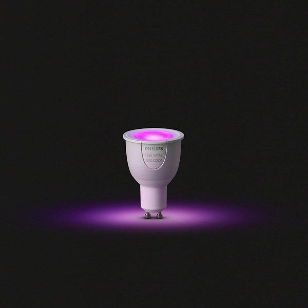 Philips Hue White and Color Ambiance 250lm 6500K GU10 6,5W (Dimmerabile)