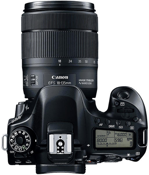 Canon EOS 80D + 18-135/3,5-5,6 IS USM