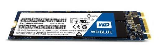 WD Blue 3D NAND SSD M.2 1TB