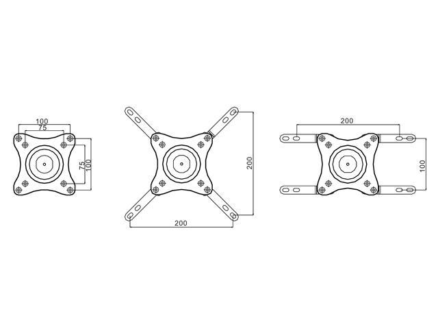 Multibrackets M VESA Wallmount 360