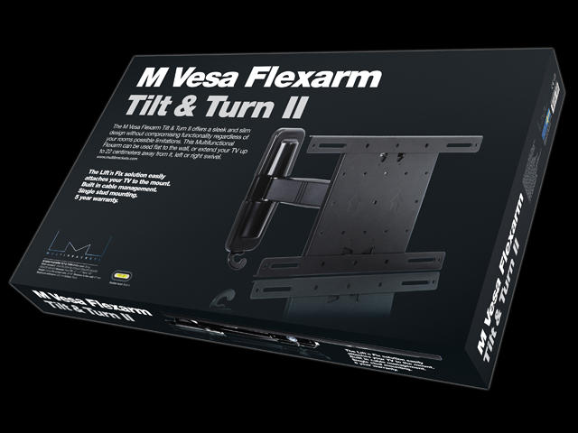 Multibrackets M VESA Flexarm Tilt & Turn II Small